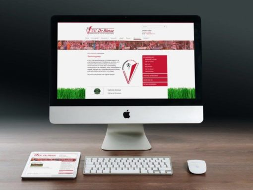 Online presentatie voetbalvereniging VV De Blesse