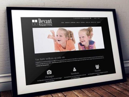 Online presentatie Devant Photography & Styling