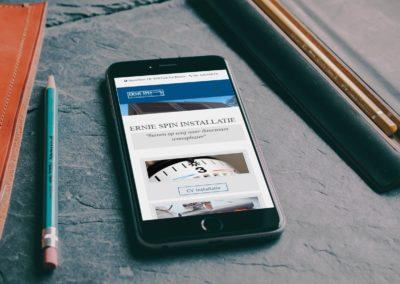 Online presentatie Ernie Spin – Installatiebedrijf De Blesse