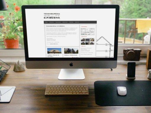 Online presentatie Tekenbureau EP Bosma